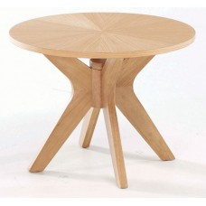 Malmo Modern Contemporary Style Solid Wood End Lamp Table