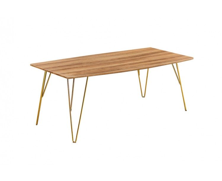 Fusion Wood Contemporary Coffee Table