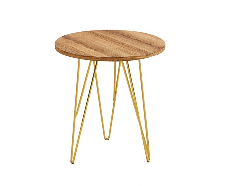 Fusion Stylish Lamp Table Wood