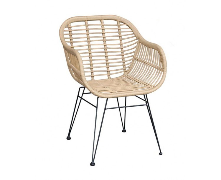 Hadley Ratten Carver Dining Chair