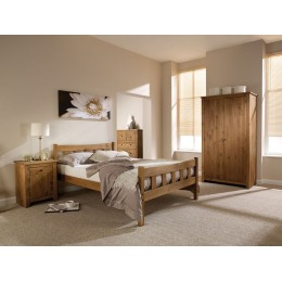 Havana 5FT King Bed Pine