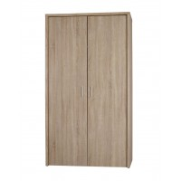 Lexington Double Door Bedroom Wardrobe Sleek Modern Oak Finish