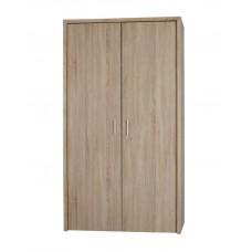 Lexington Double Door Bedroom Wardrobe Sleek Modern Oak Finish