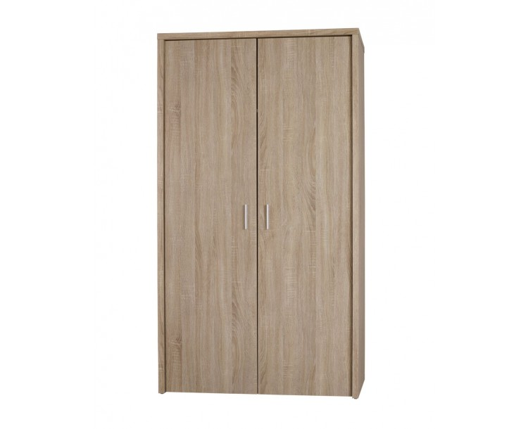 Lexington 2 Door Bedroom Wardrobe Sleek Modern Oak Finish