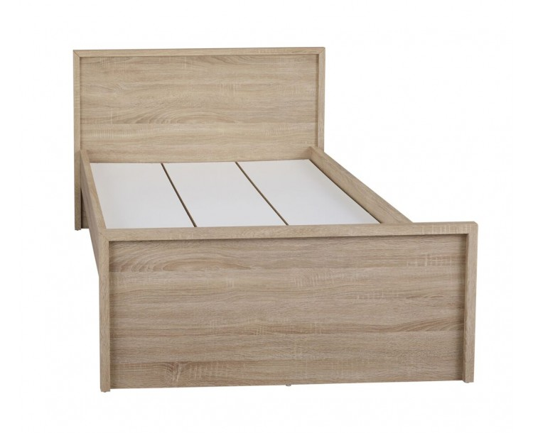Lexington Modern Oak Design Double Bedroom Bedframe