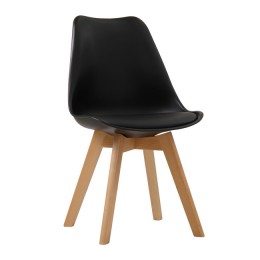 Louvre Black Stylish Chair Pack of 2