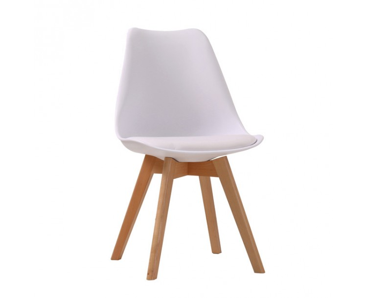 Louvre White Stylish Chair Pack of 2