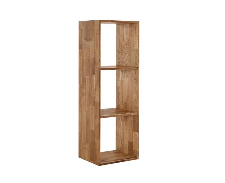 Maximo Storage Box Funky Oak 3 Cube Divider
