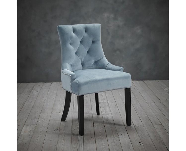 Morgan Regal Blue Chair Pack of 2