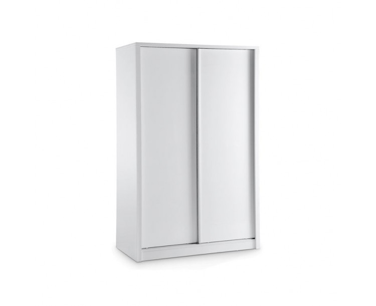 Novello Sliding Wardrobe White