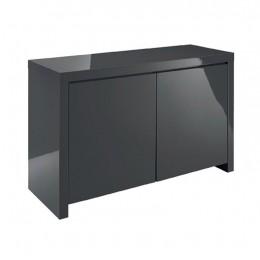 Puro High Gloss Sideboard Charcoal