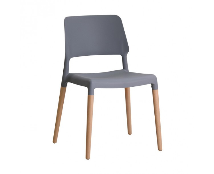 Riva Grey Array Chair Pack of 2