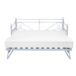 Sienna Silver Contemporary Trundle Bed