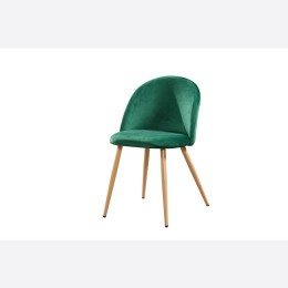 Venice Dining Chairs Green Pack of 2