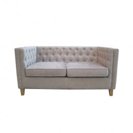 York 2 Seater Sofa Mink