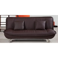 Premier Leather Living Room Folding Sofa Bed