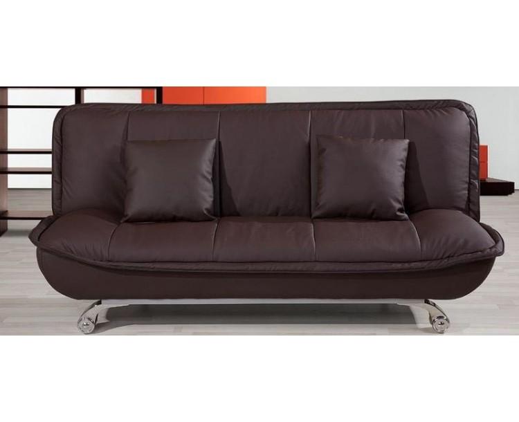 Premier Bonded Leather Living Room Folding Sofa Bed