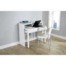 Modern White Console Extending Table by Regis
