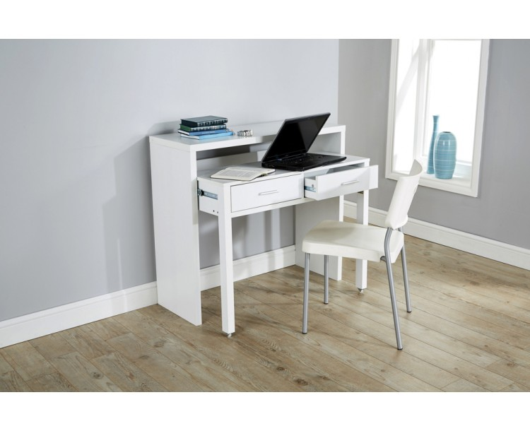 Modern White Console Extending Table By Regis ...