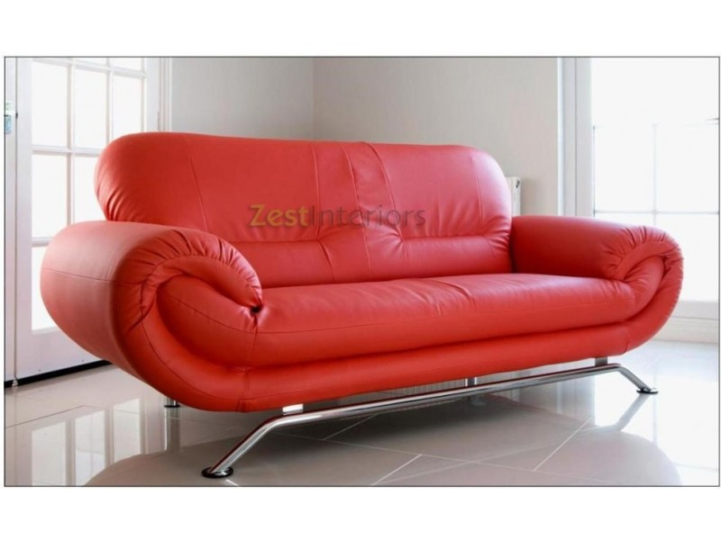red two seater sofa – Home Decor 88