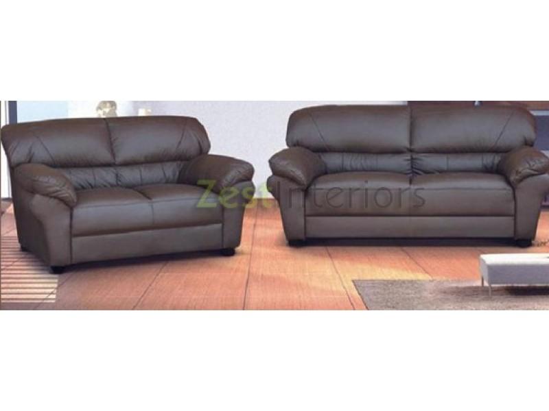 Polo Three Two Seater Sofa Room Set High Quality Brown