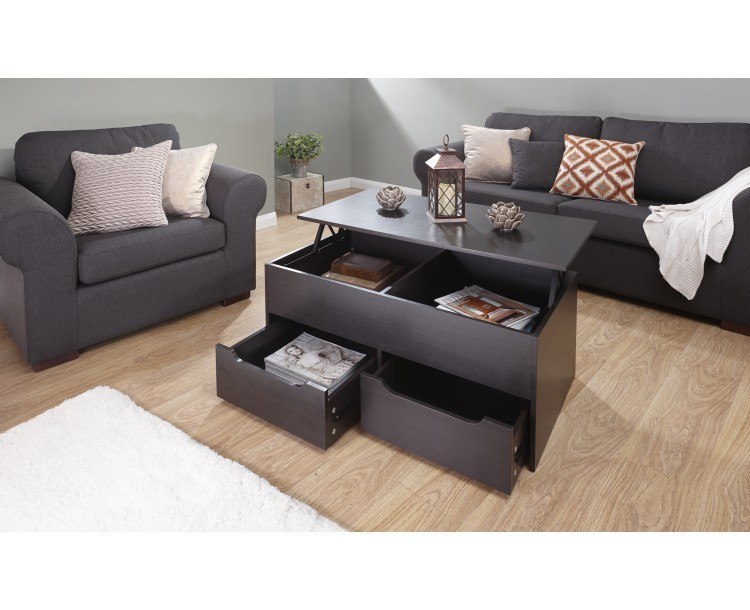 Ultimate Storage Coffee Table Featuring Built Storage Space